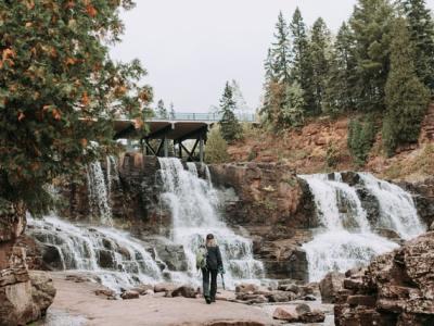 6.16 - Gooseberry Falls State Park in Minnesota - US by Samantha Gades on Unsplash