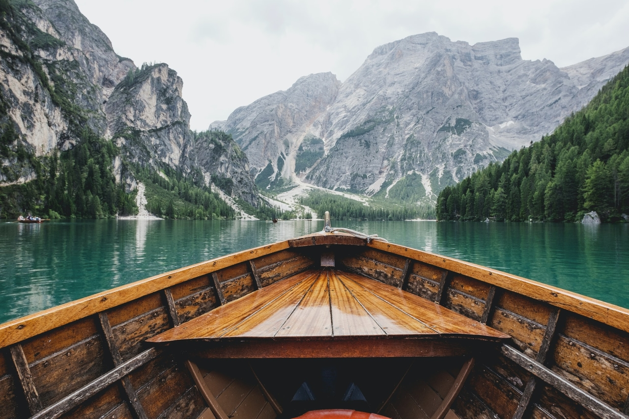 6.8 - Lago di Braies in Italy by Luca Bravo on Unsplash