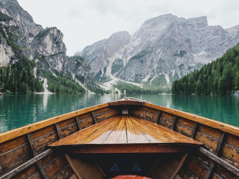 6.8 - Lago di Braies in Italy by Luca Bravo on Unsplash